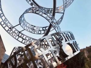 Opposite of Love-7 Nicola Anthony 2019 Stainless Steel Casting Dublin